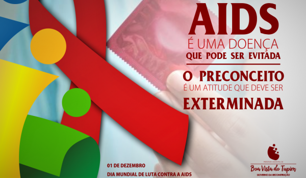 1º de dezembro - Dia Mundial de Combate à Aids