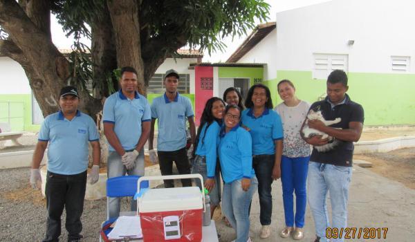Boa Vista do Tupim-BA iniciará segunda dose de vacinação, contra raiva , dia 29 de novembro, na sede do município .