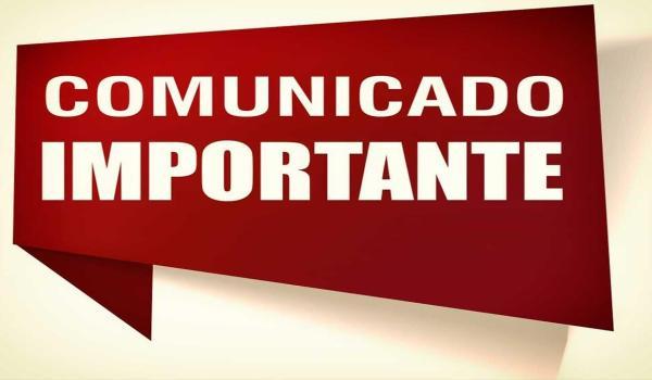 COMUNICADO - Administração municipal comunica mudança de endereço de Órgãos Públicos.