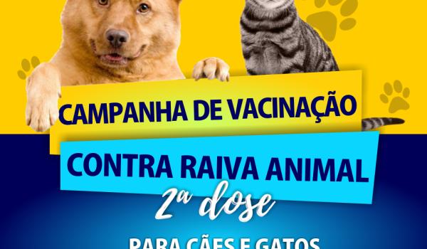 Comunicado campanha da imunização antirrábica