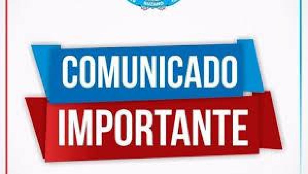 COMUNICADO – INÍCIO DO ANO LETIVO – TERÇA-FEIRA 12 /02/2019