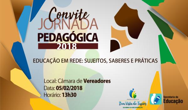 Convite Jornada Pedagógica 2018