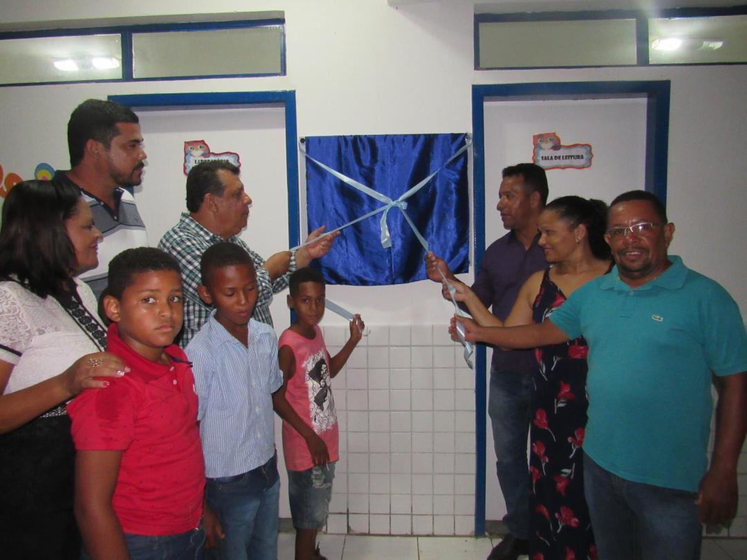 Nova escola municipal em Bom Jesus inaugurada vai beneficiar 80 alunos