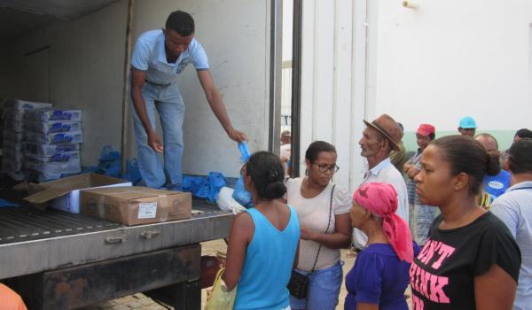 Prefeitura de Boa Vista do Tupim-BA faz distribuição de 5 toneladas de peixes