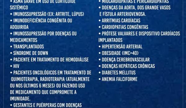 Prefeitura de Boa Vista do Tupim informa novo grupo de Vacinação