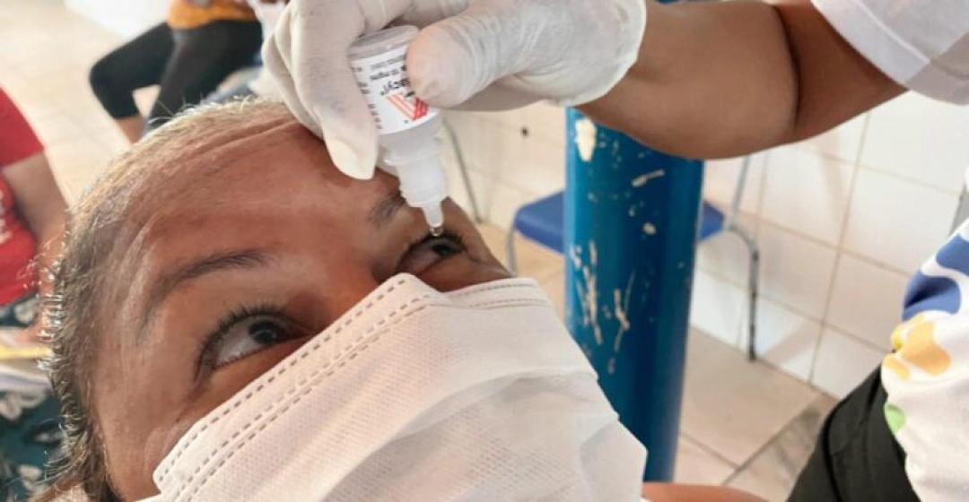 Prefeitura de Boa Vista do Tupim realiza ação de combate ao glaucoma com atendimento e exames gratuitos.