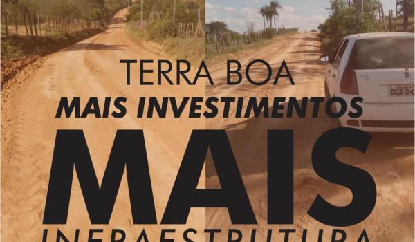 Prefeitura realiza mais investimentos em recuperação de estradas vicinais