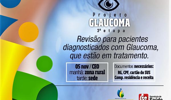 Projeto Glaucoma - 3 Etapa É Domingo 05/11
