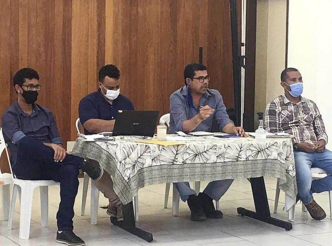 Reunião de líderes municipais