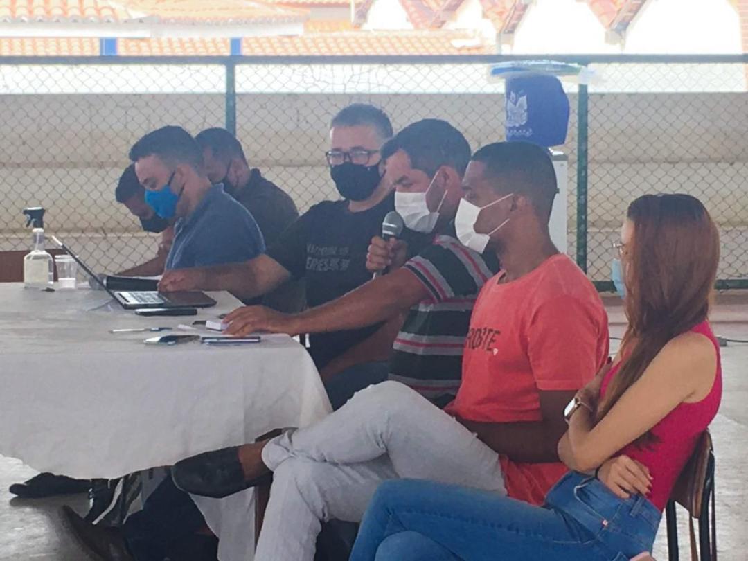 Reunião de Retorno Escolar com motoristas do ensino municipal.